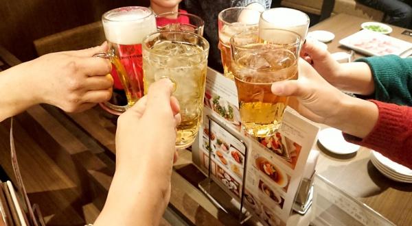 飲み会乾杯