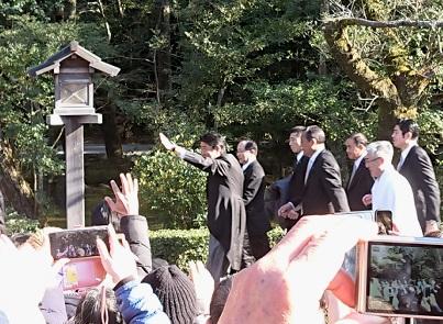 伊勢神宮に安倍首相