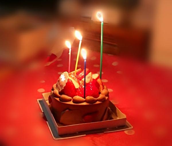誕生日ケーキろうそく