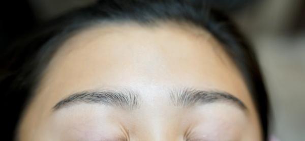 中学生の眉毛