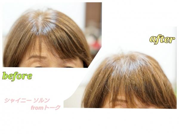 前髪が整う