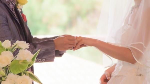 結婚式で結婚指輪