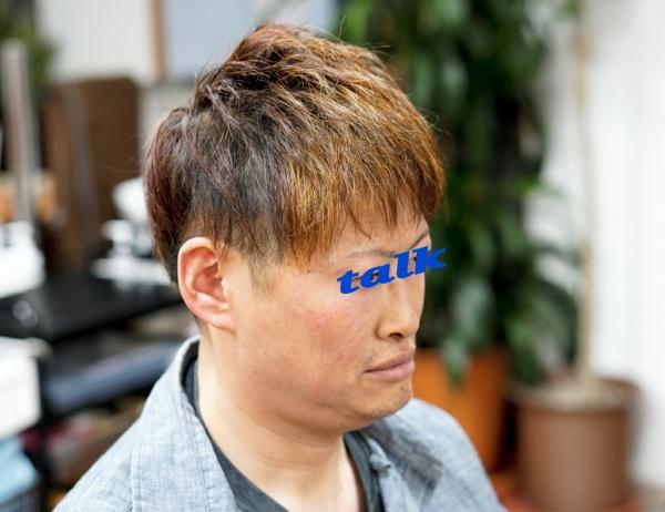 髪が増えたみたいにボリュームアップ