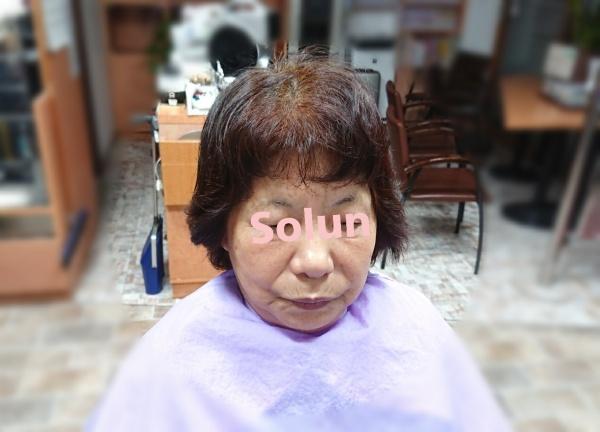 割れる前髪と癖毛