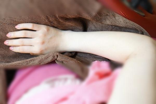 手と指シェービング