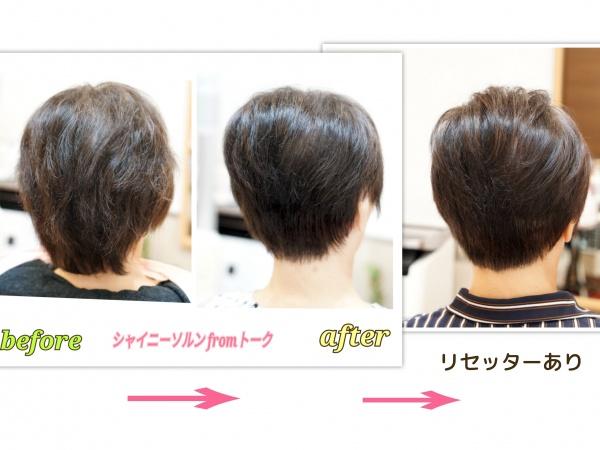 エイジング毛の変化