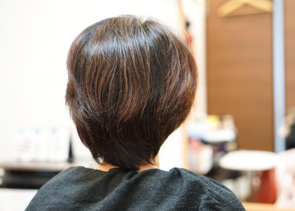 切りがいがある髪の毛